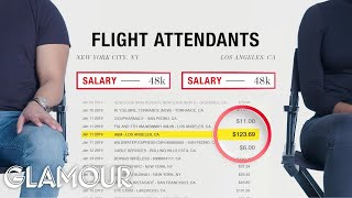 How Two Flight Attendants Spend Their $48K Incomes | Honest Accounts | Glamour
