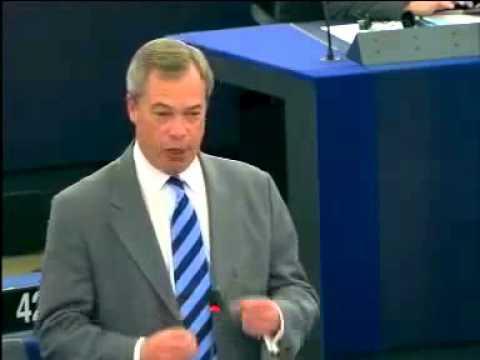 "Nigel Farage: ""This EU is the New Communism"""
