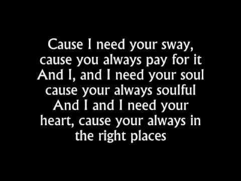 the kooks - sway (with lyrics)