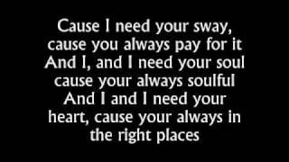 the kooks - sway (with lyrics)