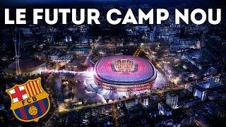 FC Barcelone : le nouveau Camp Nou dévoilé !