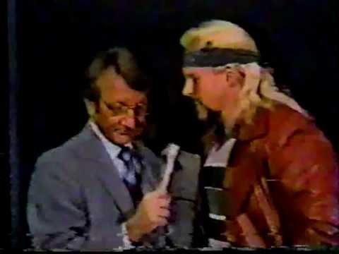 1981 Honky Wayne Ferris Promo MEMPHIS WRESTLING