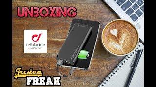 powerbank аккумулятор Cellularline Freepower Slim 5000