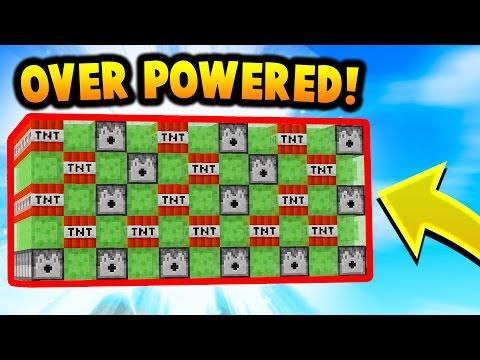 SLIME CANNONS ARE OP! | Minecraft TNT WARS! - Видео из Майнкрафт (Minecraft)