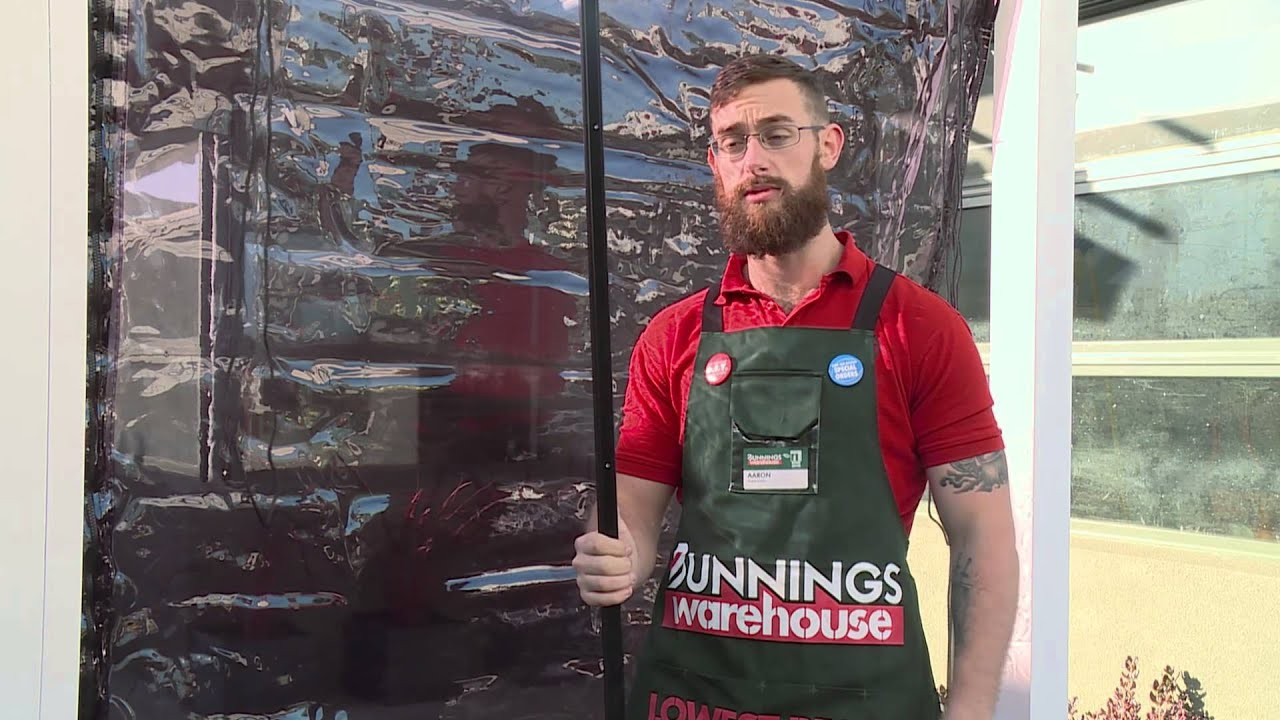 Outdoor Blinds Bunnings How To Install Bistro Blinds Diy At Bunnings