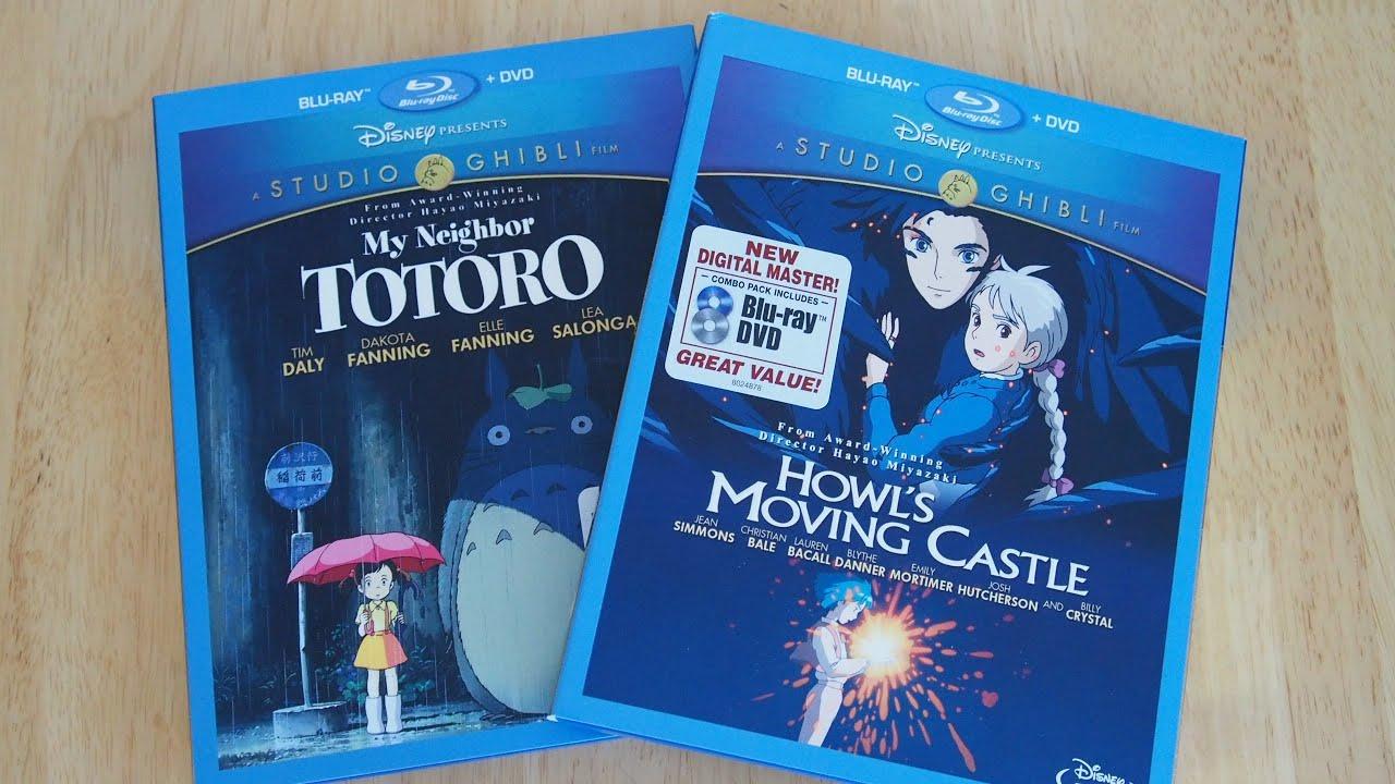 Studio Ghibli Howl's Moving Castle & My Neighbor Totoro
