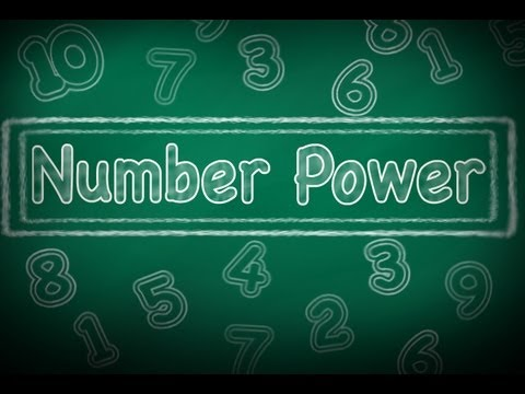 Number Power:  Numbers 11-13, Learn English Numbers