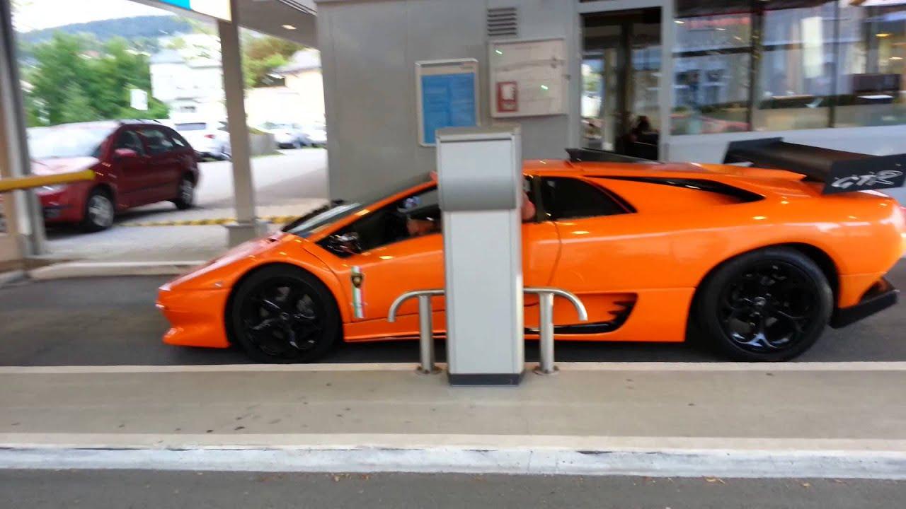 Wonderful Lamborghini Diablo Gtr Look VERY LOUD   YouTube