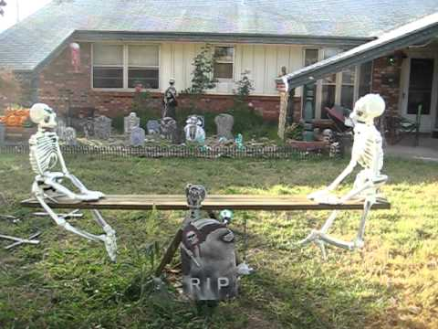 Scary Halloween Yard Decorating Ideas