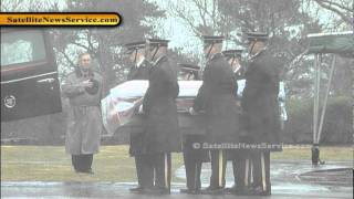 Fallen Soldier Spc. Keith Benson Laid to Rest- National Cemetery- Bourne, MA (01-27-12)