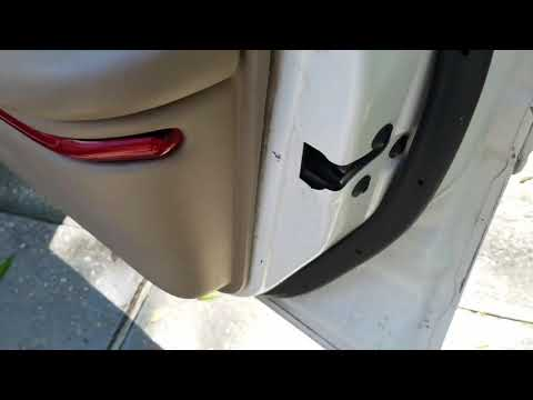 How to replace a side mirror on 2001 Buick Century