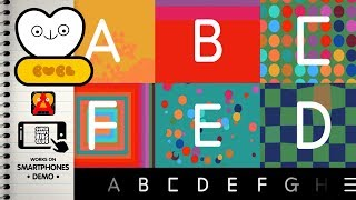 A to Z Alphabet Song & Words with Bubl ABC App for Kids
