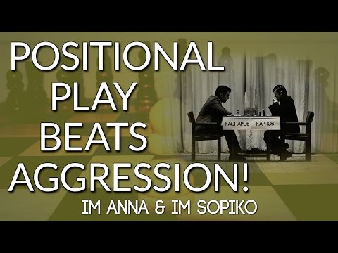 Karpov vs Kasparov: When Positional Play Beats Aggression! - IM Anna & IM Sopiko CHESS24