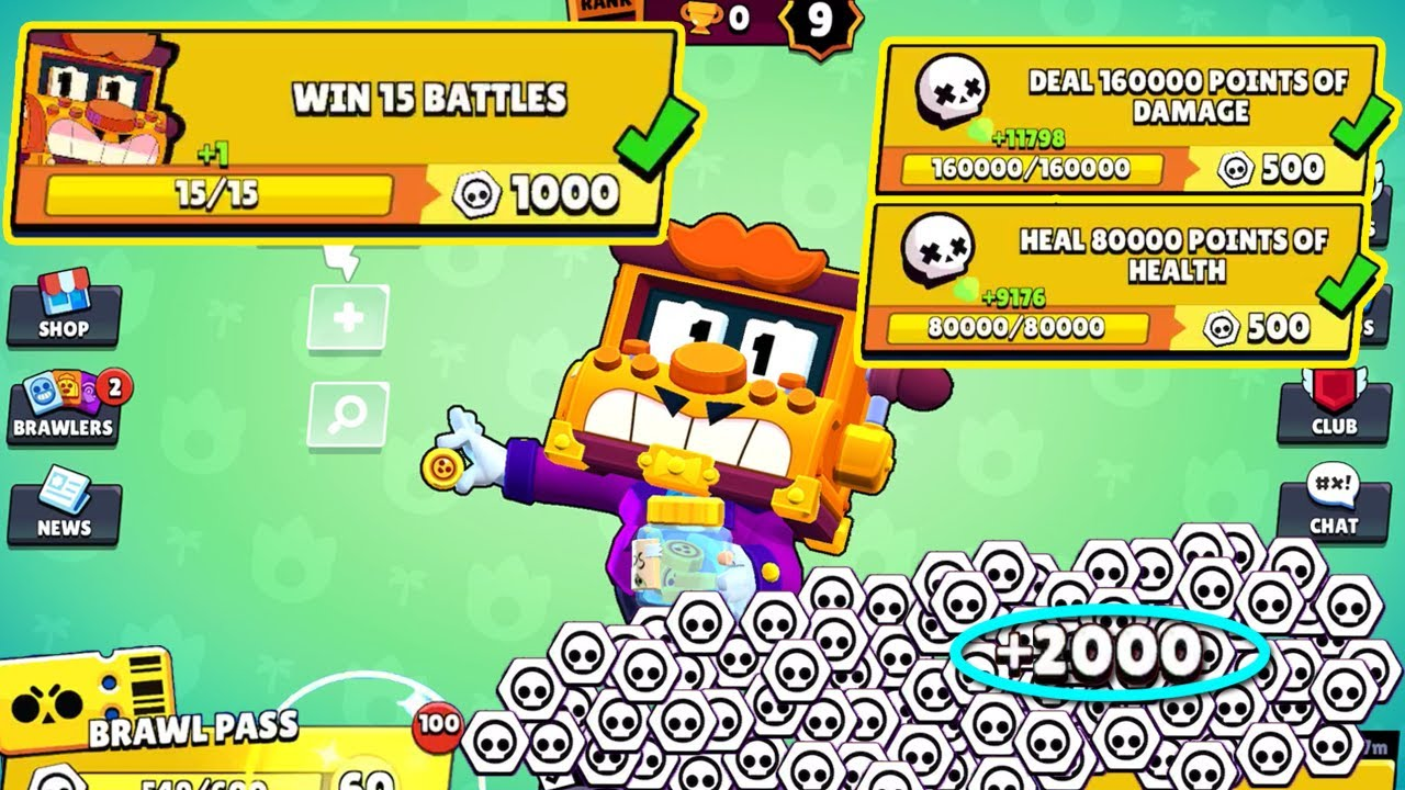 Complete 1000 TOKENS QUEST With GRIFF! Brawl Stars
