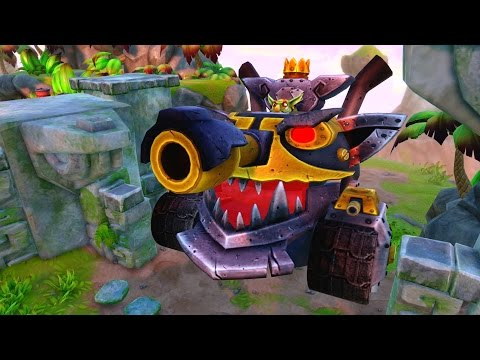 Skylanders: Trap Team - Troll Mega Tank - Part 46