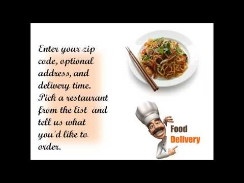 The Best Food Delivery Service in Elmira, NY