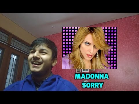Madonna  Sorry Music   Reaction