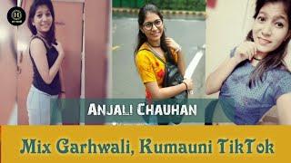 New mix Garhwali, Kumauni || Garhwali Song || Kumauni Song ft. Anjali Chauhan 🔥