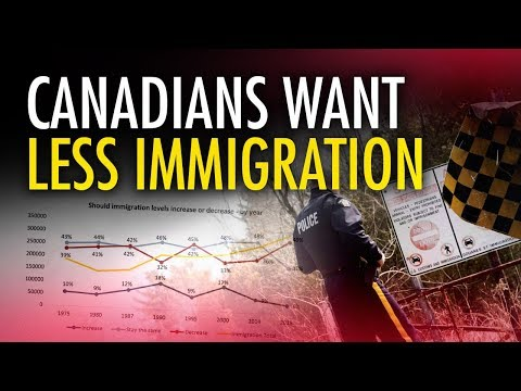 Poll: Canadian support for immigration hits record low