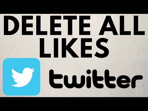 How to Unlike All Tweets on Twitter At Once - Delete All Likes on Twitter