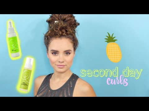 Refreshing Your Curls | Second Day Curl Routine