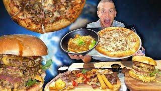 TOUR DU MONDE CULINAIRE XXL dans ce RESTO !! (Burger, Pizza, Grillades, Thaï, ...)