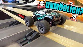 TODESBRÜCKE im selbstgebauten CRAWLER PARK! - Welches RC AUTO bezwingt den Parkour?