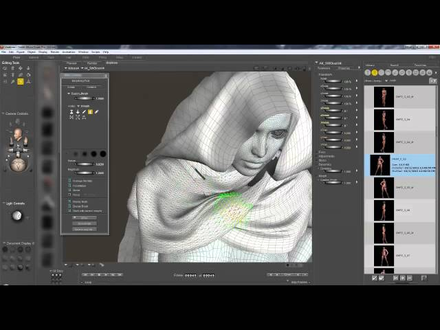 Video Tutorial for the dynamic SciWizard cloak by Kim Schneider