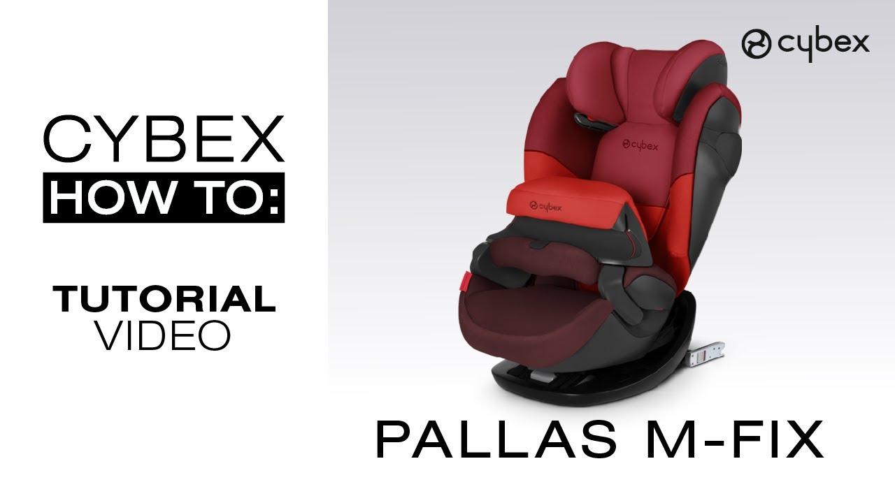 Cybex Solution S-fix Scuderia Ferrari fotelik 15-36 kg Grupa 2//3 car seat 4*ADAC