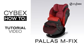 Cybex Pallas M Fix Car Seat Tutorial Youtube