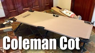 Coleman Trailhead II Folding Camping Cot Review