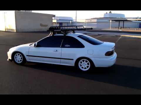 95 Honda Civic Eg Coupe Judy S Car Youtube