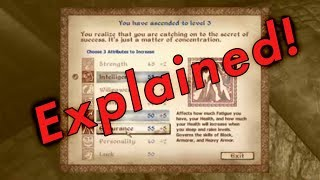 Oblivion Leveling Explained - H๐w the System Works