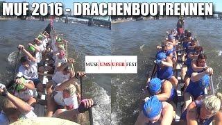 MUF 2016 Drachenbootrennen - Eurodragons & Frankforter Dorschenanner