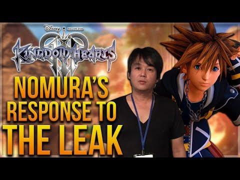 Tetsuya Nomura Responds to The Kingdom Hearts 3 Leak - Secret Movie and Epilogue as DLC