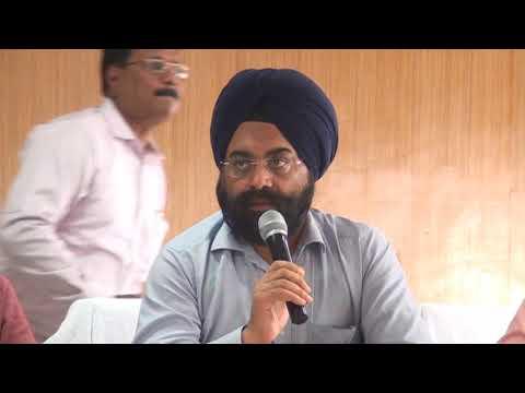 Ockhi Cyclone - Agri Secretary Thiru.Gagandeep Singh Bedi IAS addressing the Press