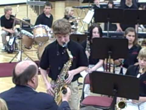 Into the Sun - Plains 7th Grade Jazz Band - June 3, 2009