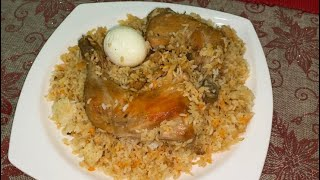 How to make Chicken polao recipe সেহরি বা ঈদে খুব সহজেই তৈরি করুন দারুন স্বাদের চিকেন পোলাও