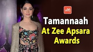Tamannaah Bhatia At Zee Apsara Awards Function 2018 | Tollywood Updates | YOYO Times