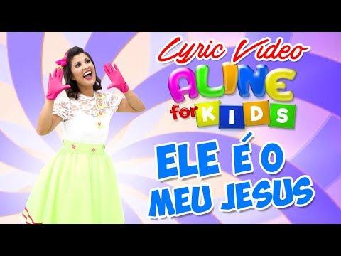 Aline Nascimento Ele E O Meu Jesus Lyric Video Aline For