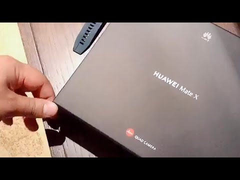 Huawei Mate X Unboxing Video