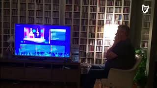 WATCH: This mans reaction to Ireland getting through to the Eurovision is the funniest thing you'...
