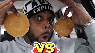 FOOD FIGHT: McDonalds VS Burger King Pancakes | WHICH IS BETTER?