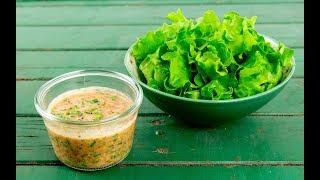 Tomatendressing low fat Rezept | leichte Sommerküche