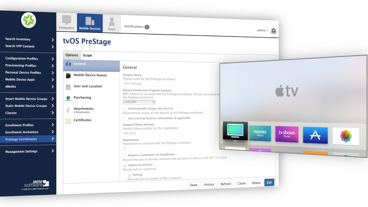 Apple TV Management with Jamf Pro