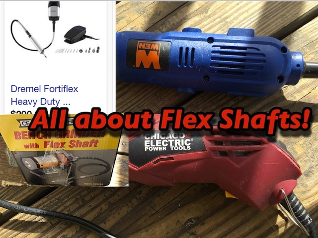 What You need to Know about Rotary tools, flex shaft and Foredom!