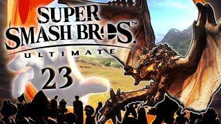 SUPER SMASH BROS. ULTIMATE 👊 #23: Gegen Monster Hunter Flugwyver Rathalos!