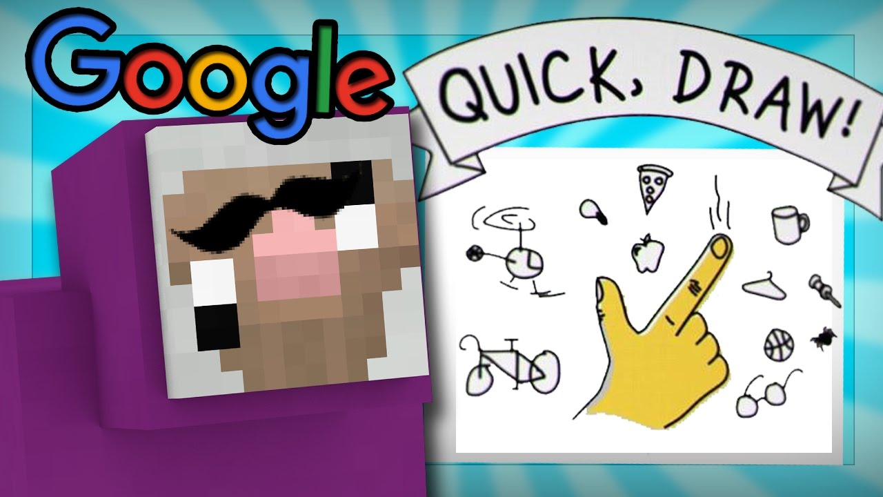 IS PURPLE SHEP SMARTER THAN GOOGLE?? | Google Quick Draw ...