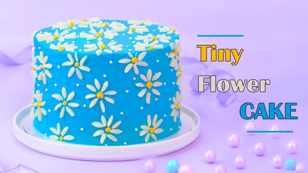 Tiny Flower Cake Decorating Ideas | Perfect Cake Decorating Ideas | Top Yummy Japan