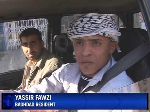 Traffic blues in Baghdad